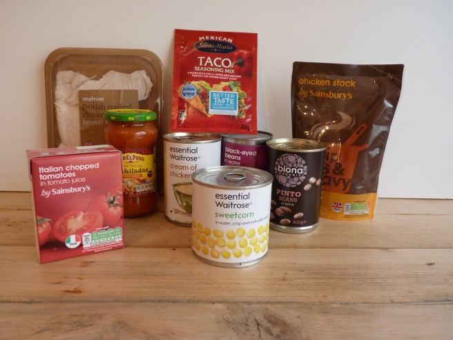 6 Can Taco Soup Ingredients