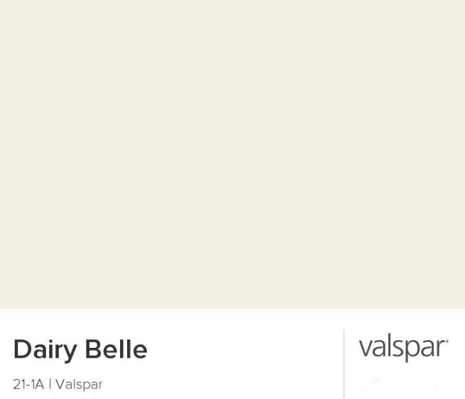 Dairy Belle Valspar Paint