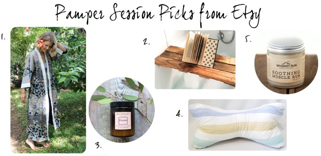 Etsy At Home Spa Pamper Session Picks