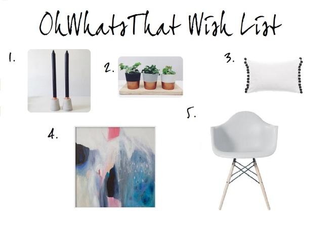 OhWhatsThat Wish List