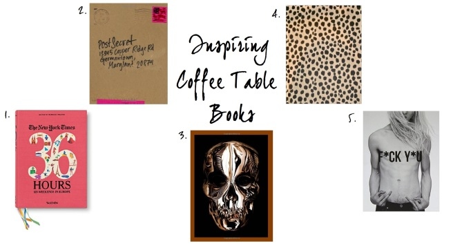 Inspiring Coffee Table Books
