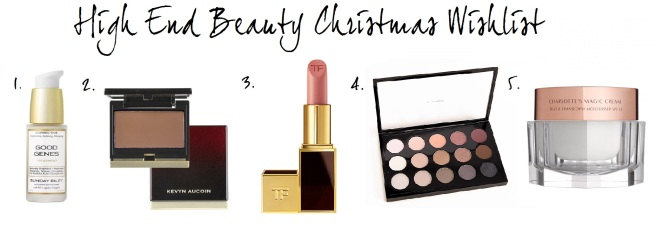 High End Beauty Christmas Wishlist