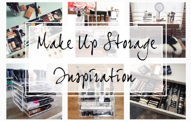 make-up storage inspiration