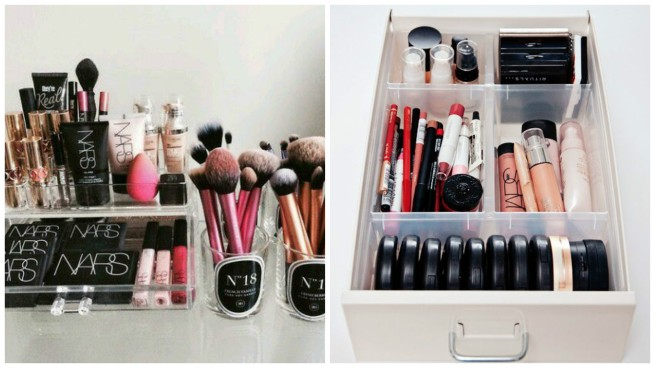 makeup storage inspiration 1