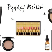 FRIDAY FIVE: PAYDAY BEAUTY WISH LIST