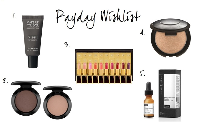 Payday wishlist January