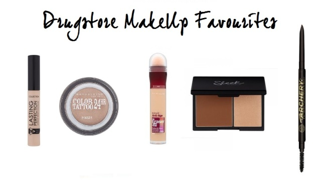 Drugstore makeup favourites