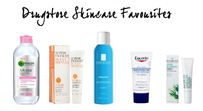 Drugstore Skincare Favourites