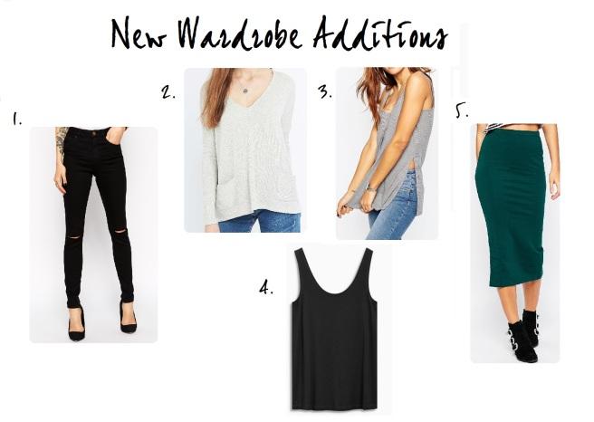 new wardrobe additions