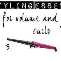 FRIDAY FIVE: HAIRSTYLING ESSENTIALS TO CREATE CURLS & VOLUME
