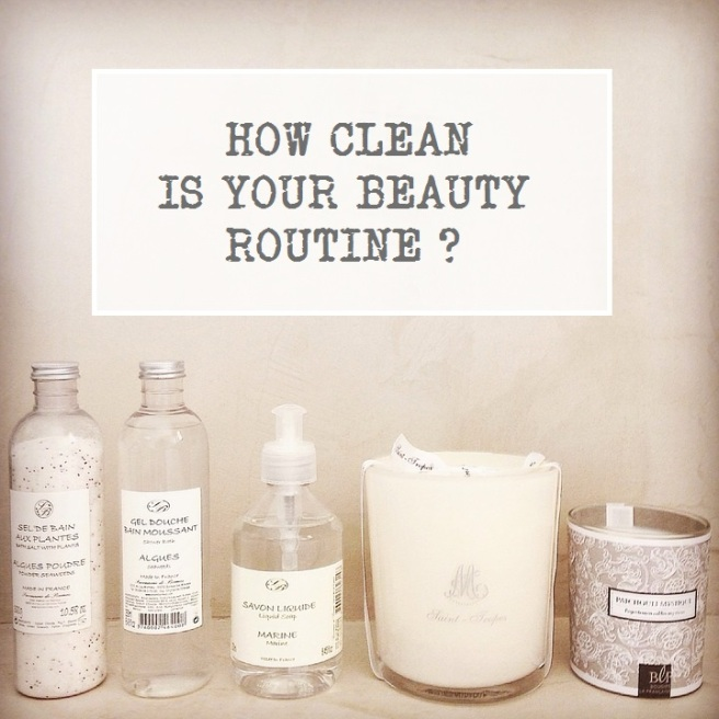 How Clean Is Your Beauty Routine