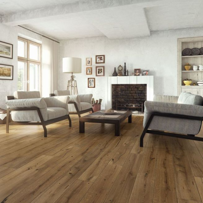 Sotto Caramel Oak Real Wood Top Layer Flooring