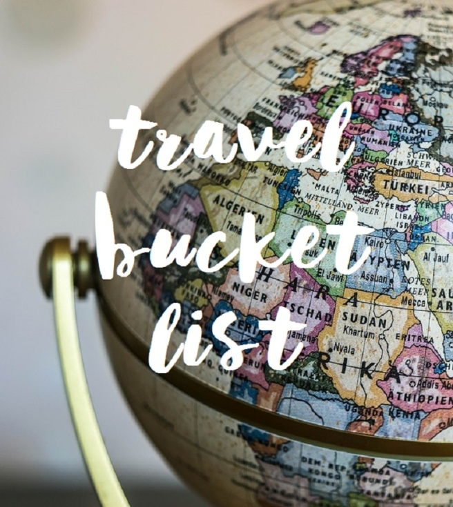 Travel bucket list - globe