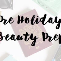 PRE HOLIDAY BEAUTY PREP