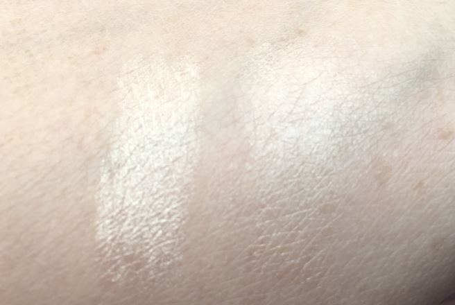 BECCA x Jaclyn Hill Shimmering Skin Perfector Slimlight Champagne Pop swatches