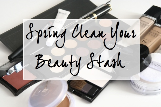 Spring Clean Your Beauty Stash