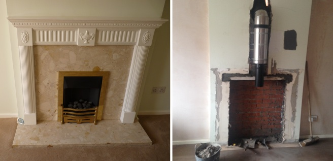 fireplace changes