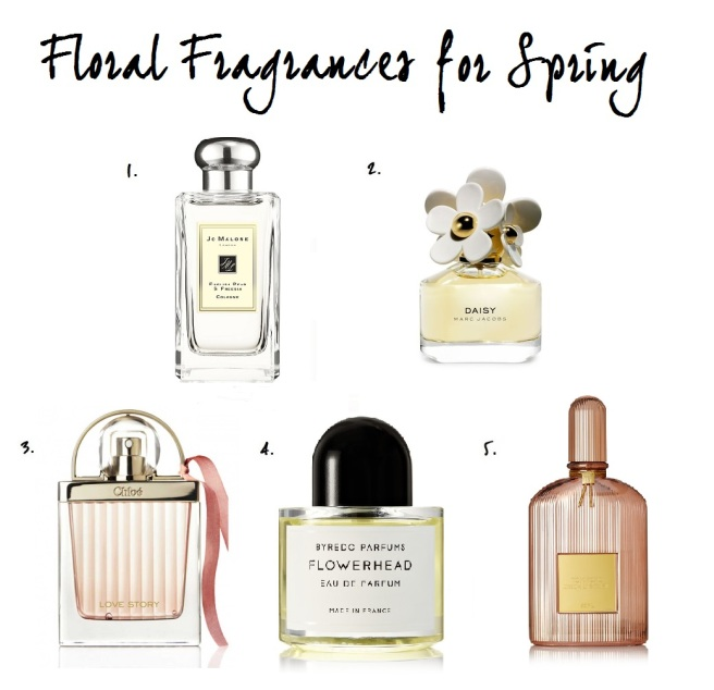 Floral Fragrances for Spring