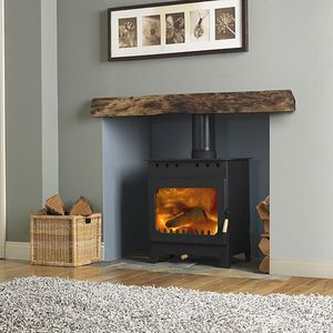 wooden beam mantlepiece 2