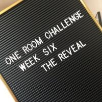 ONE ROOM CHALLENGE   WEEK SIX: THE LIVING ROOM REVEAL (SORT OF)