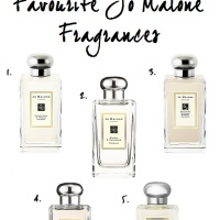 FRIDAY FIVE: FAVOURITE JO MALONE FRAGRANCES