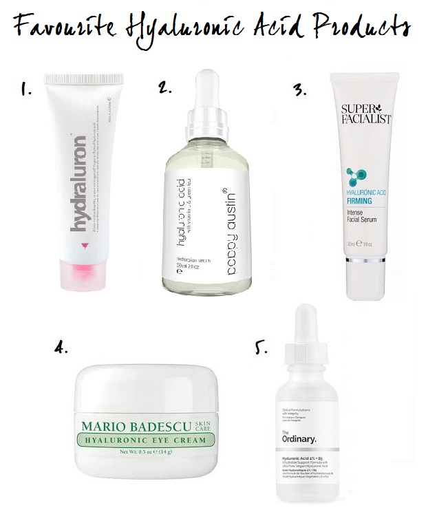 Favourite Hyaluronic Acid Products