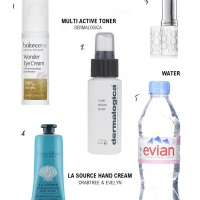 A REALISTIC IN-FLIGHT BEAUTY ROUTINE