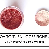 popular post loose pigment to pressed powder