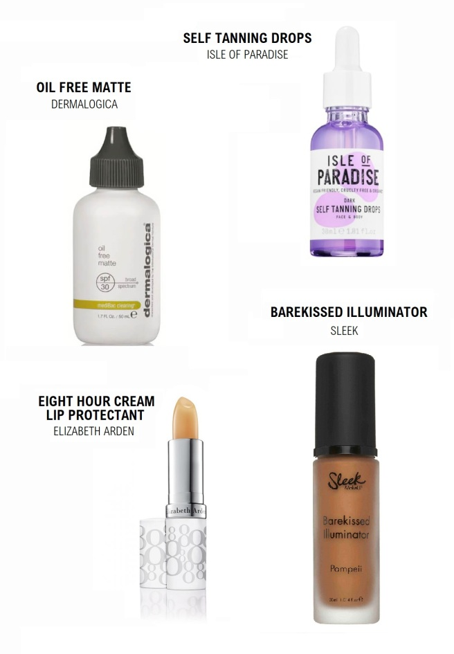 Summer Skin Makeup Favourites